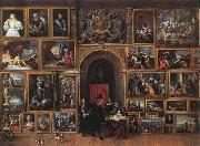 TENIERS, David the Younger Archduke Leopold Wilhelm of Austria in his Gallery fh oil painting picture wholesale